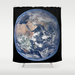 2014 NASA Blue Marble Shower Curtain