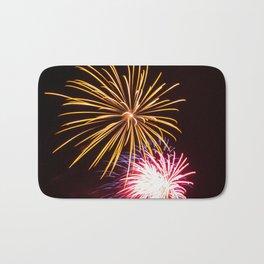 Fireworks Bath Mat