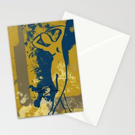 Foot Strokes Stationery Cards
