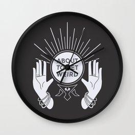 Weird Future Wall Clock