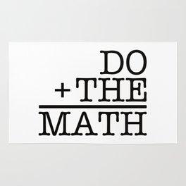 Do The Math Rug