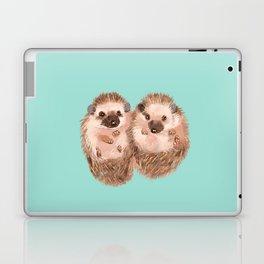 Twin Hedgehogs Laptop & iPad Skin