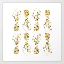 Calamar Art Print