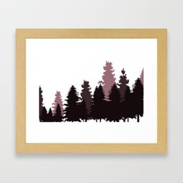 Trees Framed Art Print