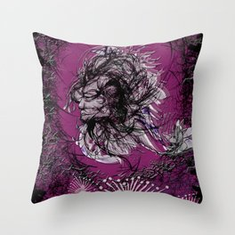 Forest being Throw Pillow