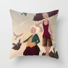 Aren and Than Throw Pillow