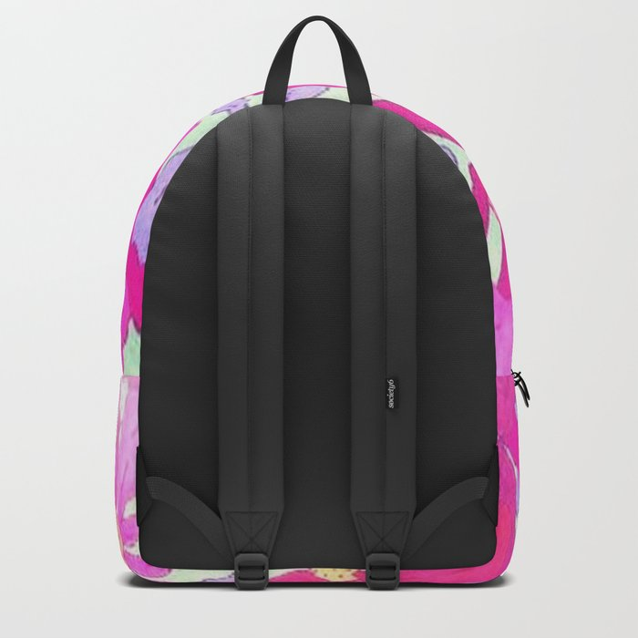 Bright and Hazy Floral Backpack