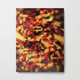Intangible Metal Print