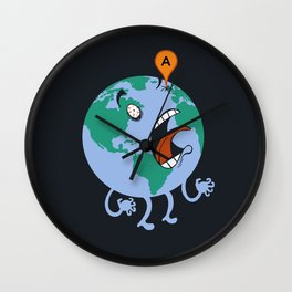 Google-Eyed Wall Clock