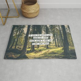 Dirt Paths Rug