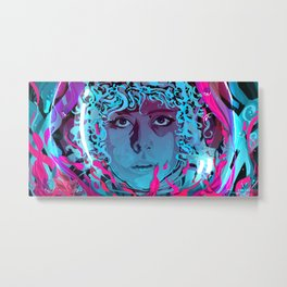 Ripley in another place ( Purple/blue edition)  Metal Print
