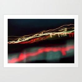 Road Lights Art Print