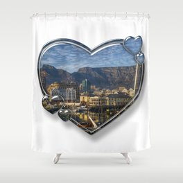 I Love Cape Town Shower Curtain