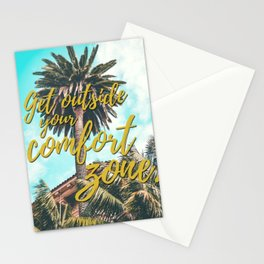 Get Outside Your Comfort Zone Stationery Cards