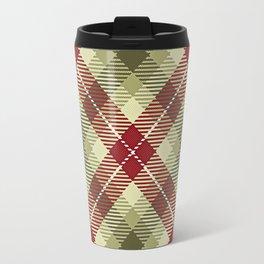 Colors Of Christmas (Plaid 2) Travel Mug