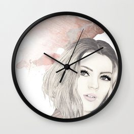 Fashion Vignette - January 2017 Wall Clock
