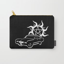 Keep Calm and Carry On my Wayward Son Carry-All Pouch