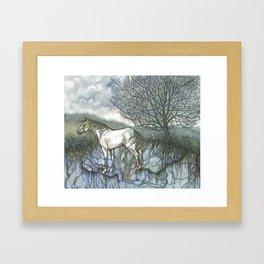 Pale Hose Framed Art Print