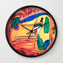 MAYAN TOUCAN Wall Clock