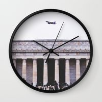 lincoln Wall Clocks featuring Lincoln by Sean Horton