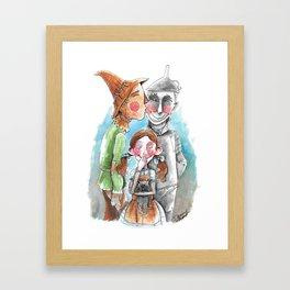 Friends of Dorothy Framed Art Print