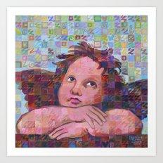 Sistine Cherub No. 2 Art Print