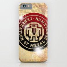 FEDERATION OF METAL GENTLEMEN LOGO iPhone 6s Slim Case