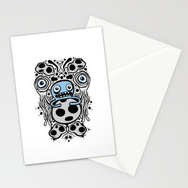 Panopticon Space (White Version) Stationery Cards