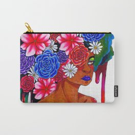 Flowers in her Hair Carry-All Pouch