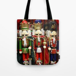 Nutcracker Soldiers Tote Bag