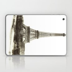 Vintage Eiffel Tower French Post Card Laptop & iPad Skin
