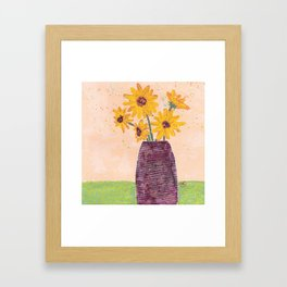 Who Can Resist Framed Art Print