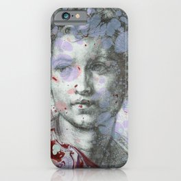 Sacred Youth Sketch iPhone Case