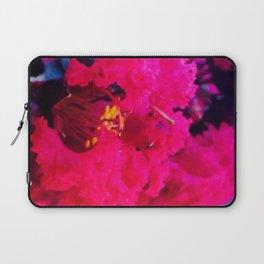 Pretty in Pink Crape Myrtle Laptop Sleeve