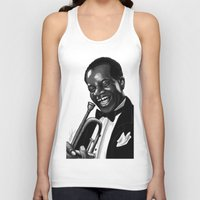 louis Tank Tops featuring Louis by Simone Bellenoit : Art & Illustration