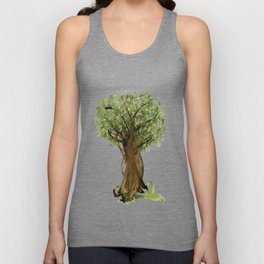 The Fortune Tree #3 Unisex Tank Top