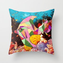 Jessica the Fish Throw Pillow