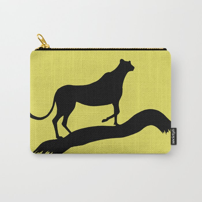 Cheetah Grace Carry-All Pouch