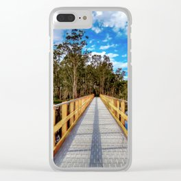 Wetlands (2) Clear iPhone Case