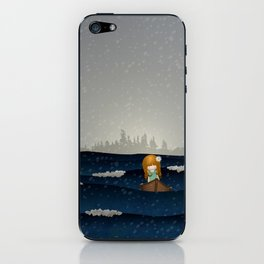 Cicily to The Sea iPhone Skin