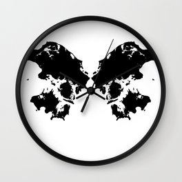 Butterfly Denmark Wall Clock