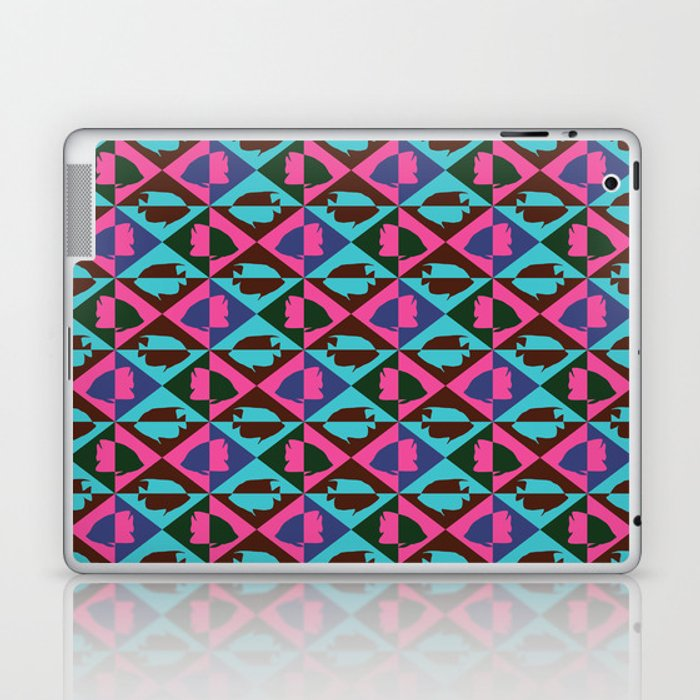 Tropical Fish Laptop & iPad Skin