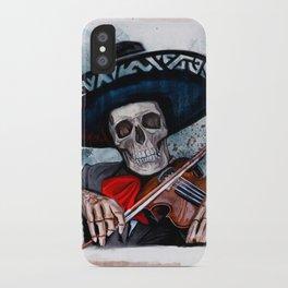 El Mariachi - Dia De Los Muertos iPhone Case