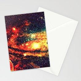 Cosmic mandala #8 Stationery Cards
