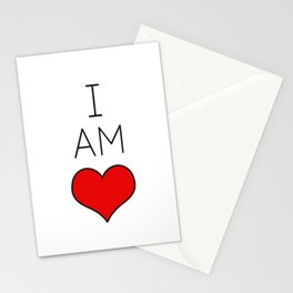 I Am Love. Stationery Cards