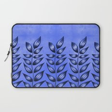 Blue Plant With Pointy Leaves Laptop Sleeve