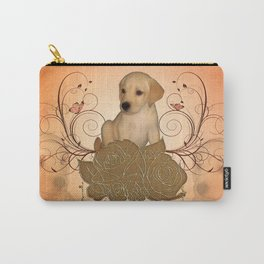 Cute little puppy Carry-All Pouch