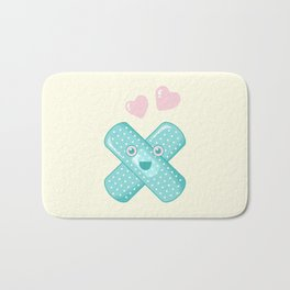 Pastel Happy Plaster Bath Mat
