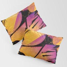 B--Abstract Pillow Sham