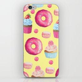 Yummy Sweet Treat Pattern iPhone Skin